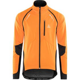 uusi luettelo tavata saapuu Löffler San Remo Windstopper Softshell Pyöräilytakki irrotettavilla  hihoilla Miehet, orange